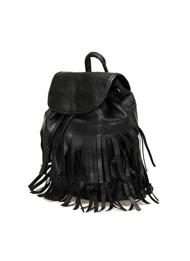 Miss F Sırt Çantası Siyah